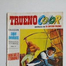 Livros de Banda Desenhada: TRUENO COLOR. Nº 13. AÑO I. MAKAR EL TERRIBLE COLECCION SUPER AVENTURAS CAPITAN TRUENO 1165 TDKC72. Lote 215605678
