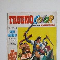 Livros de Banda Desenhada: TRUENO COLOR. Nº 55. AÑO II DOS ESBIRROS FRENTE COLECCION SUPER AVENTURAS CAPITAN TRUENO 1233 TDKC72. Lote 215606423