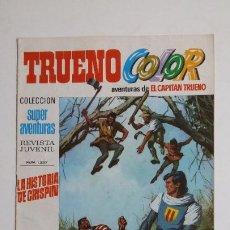 Livros de Banda Desenhada: TRUENO COLOR. Nº 52. AÑO II. HISTORIA CRISPIN. COLECCION SUPER AVENTURAS CAPITAN TRUENO 1227 TDKC72. Lote 215606683