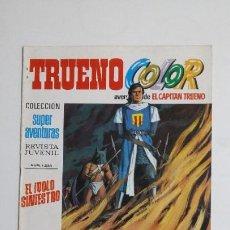Livros de Banda Desenhada: TRUENO COLOR. Nº 51. AÑO II IDOLO SINIESTRO. COLECCION SUPER AVENTURAS CAPITAN TRUENO 1225 TDKC72. Lote 215606895