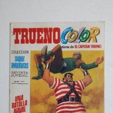Livros de Banda Desenhada: TRUENO COLOR. Nº 47. AÑO II. BATALLA NAVAL. COLECCION SUPER AVENTURAS CAPITAN TRUENO 1217 TDKC72. Lote 215607402