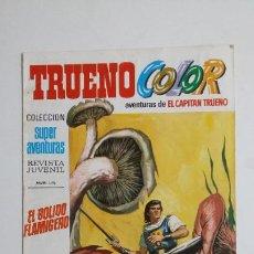 Livros de Banda Desenhada: TRUENO COLOR. Nº 36. AÑO I. BOLIDO FLAMIGERO. COLECCION SUPER AVENTURAS CAPITAN TRUENO 1195 TDKC72. Lote 215608291