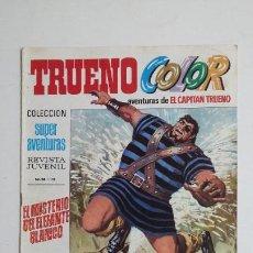 Livros de Banda Desenhada: TRUENO COLOR. Nº 34. AÑO I. MISTERIO ELEFANTE BLANCO. SUPER AVENTURAS CAPITAN TRUENO 1191 TDKC72. Lote 215608377