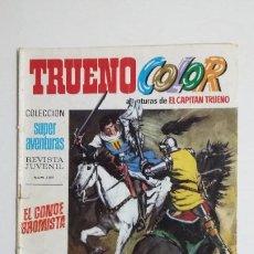 Livros de Banda Desenhada: TRUENO COLOR. Nº 33. AÑO I. CONDE BROMISTA. COLECCION SUPER AVENTURAS CAPITAN TRUENO 1189 TDKC72. Lote 215608756