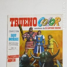 Livros de Banda Desenhada: TRUENO COLOR. Nº 28. AÑO I. EMBOSCADA MORTAL. COLECCION SUPER AVENTURAS CAPITAN TRUENO 1180 TDKC72. Lote 215609351