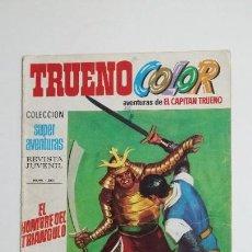 Livros de Banda Desenhada: CAPITAN TRUENO COLOR. COLECCION SUPER AVENTURAS Nº 69. EL HOMBRE DEL TRIANGULO Nº 1261. TDKC72. Lote 215609973