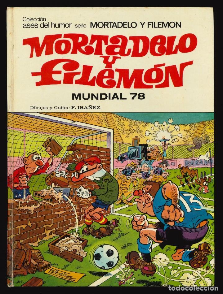 ASES DEL HUMOR - BRUGUERA / NÚMERO 36 (MORTADELO Y FILEMÓN. MUNDIAL 78) 1ª EDICIÓN (Tebeos y Comics - Bruguera - Otros)