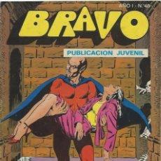 Tebeos: BRAVO Nº 48 BRUGUERA INSPECTOR DAN. Lote 215741656