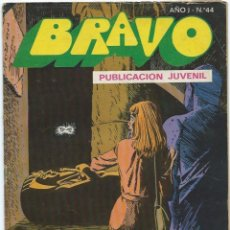 Tebeos: BRAVO Nº 44 BRUGUERA INSPECTOR DAN. Lote 215741748