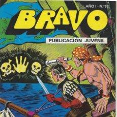 Tebeos: BRAVO Nº 33 BRUGUERA EL CACHORRO. Lote 215741963