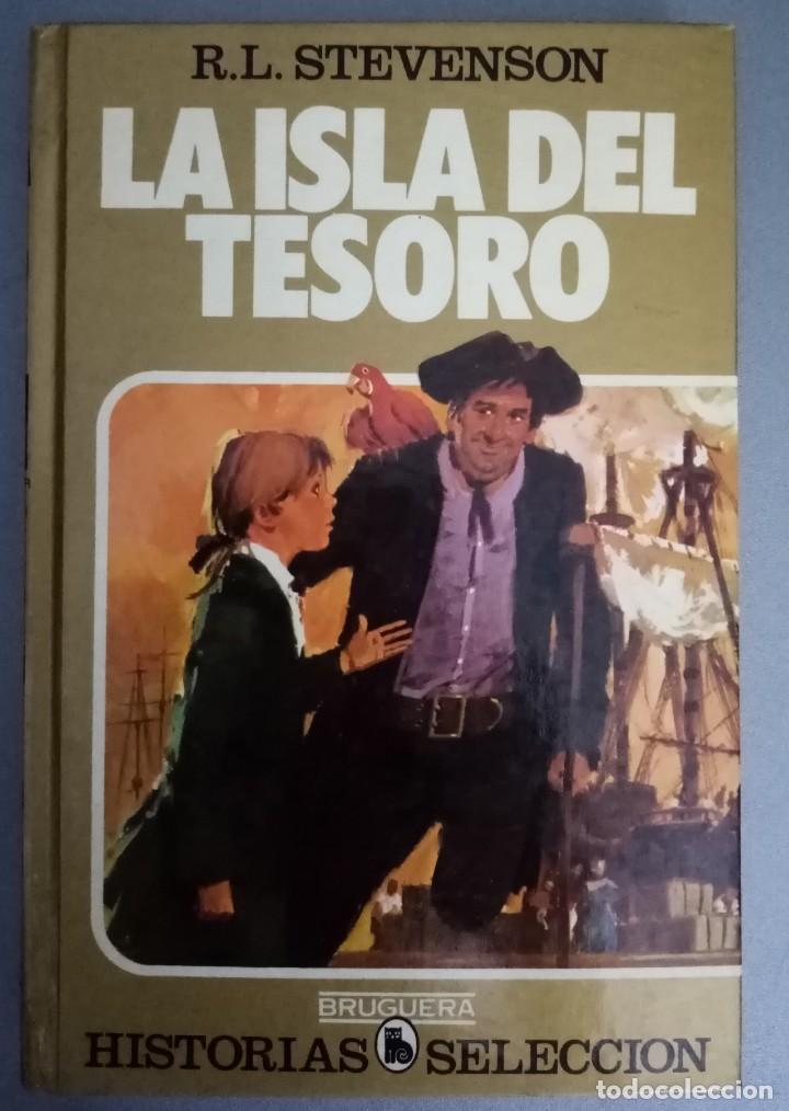 LA ISLA DEL TESORO DE R. L. STEVENSON ED BRUGUERA (Tebeos y Comics - Bruguera - Historias Selección)