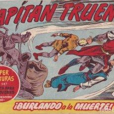 Tebeos: EL CAPITAN TRUENO: NUMERO 278 BURLANDO A LA MUERTE , EDITORIAL BRUGUERA. Lote 215882382