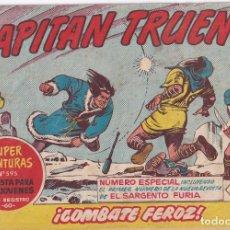 Tebeos: EL CAPITAN TRUENO: NUMERO 294 COMBATE FEROZ , EDITORIAL BRUGUERA. Lote 215882533