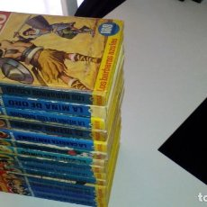 Livros de Banda Desenhada: COLECCION HEROES ( BRUGUERA) MANIFICO LOTE!!! CAPITAN TRUENO....... Lote 215891648