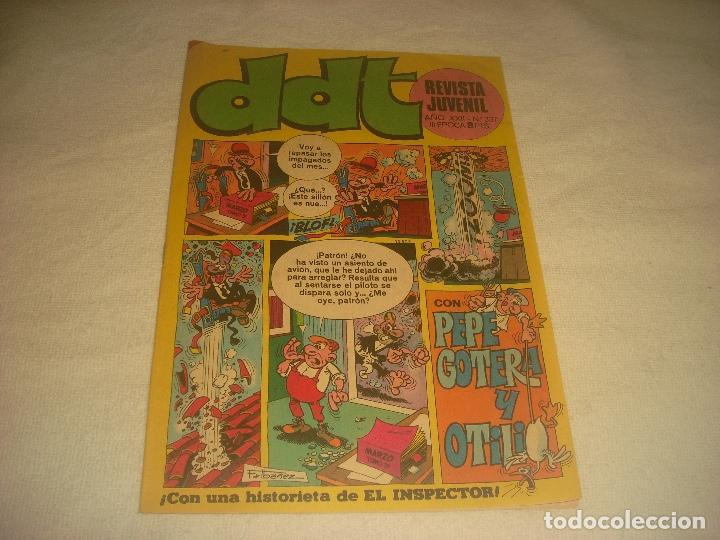 DDT N. 337 CON PEPE GOTERA Y OTILIO. (Tebeos y Comics - Bruguera - DDT)