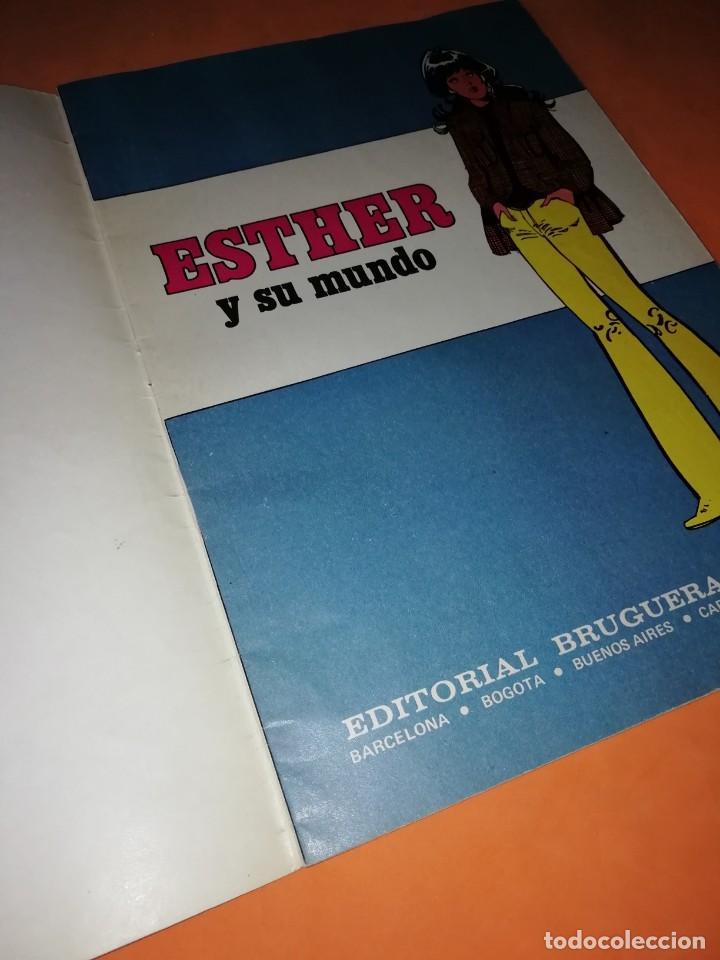 Tebeos: ESTHER Y SU MUNDO. JOYAS LITERARIAS JUVENILES SERIE AZUL. Nº 1 - Foto 3 - 215925818