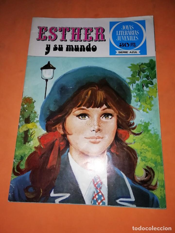 ESTHER Y SU MUNDO. JOYAS LITERARIAS JUVENILES SERIE AZUL. Nº 1 (Tebeos y Comics - Bruguera - Esther)