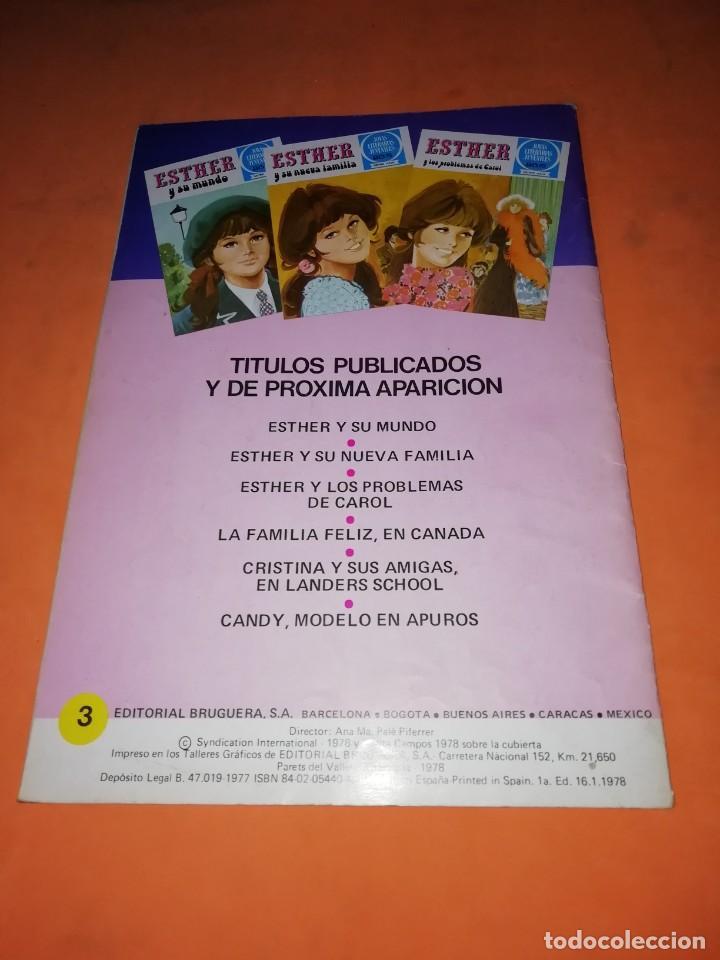 Tebeos: ESTHER Y LOS PROBLEMAS DE CAROL. JOYAS LITERARIAS JUVENILES SERIE AZUL. Nº 3 - Foto 2 - 215926345