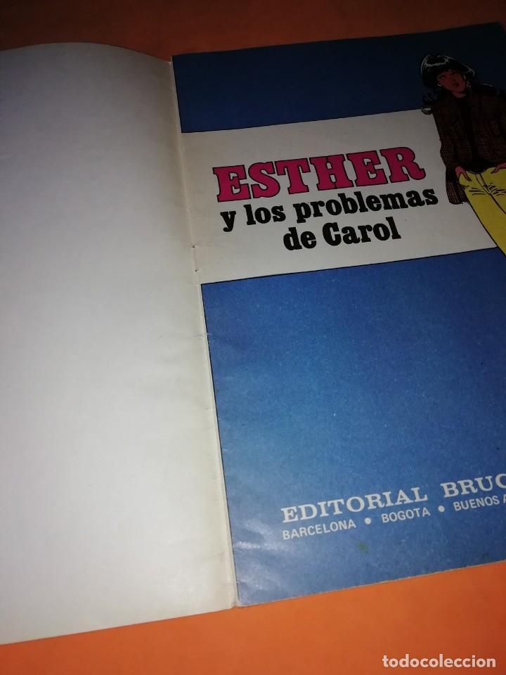 Tebeos: ESTHER Y LOS PROBLEMAS DE CAROL. JOYAS LITERARIAS JUVENILES SERIE AZUL. Nº 3 - Foto 4 - 215926345