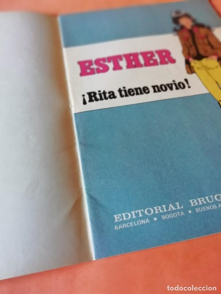 Tebeos: ESTHER ¡ RITA TIENE NOVIO !. JOYAS LITERARIAS JUVENILES SERIE AZUL. Nº 9 - Foto 2 - 215926983