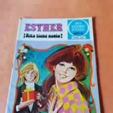 Tebeos: ESTHER ¡ RITA TIENE NOVIO !. JOYAS LITERARIAS JUVENILES SERIE AZUL. Nº 9. Lote 215926983