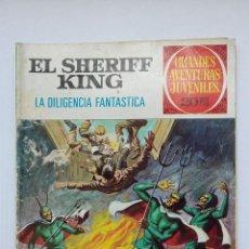 Tebeos: EL SHERIFF KING Nº 64 LA DILIGENCIA FANTASMA. GRANDES AVENTURAS JUVENILES BRUGUERA. TDKC74. Lote 215932463