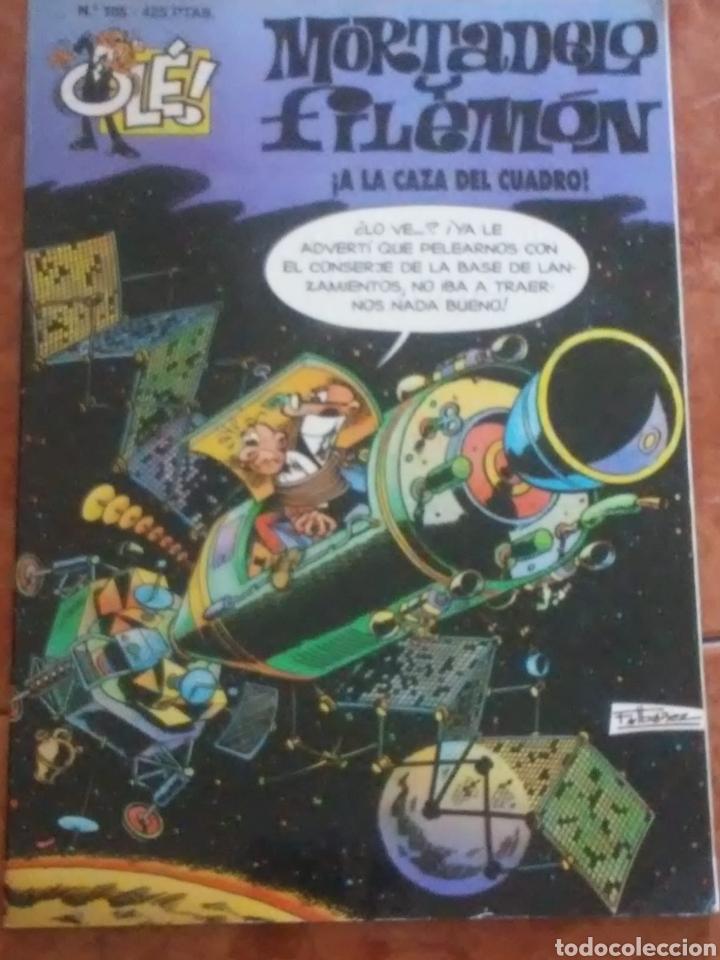 MORTADELO. A LA CAZA DEL CUADRO. NUMERO 105. 425 PTAS (Tebeos y Comics - Bruguera - Ole)