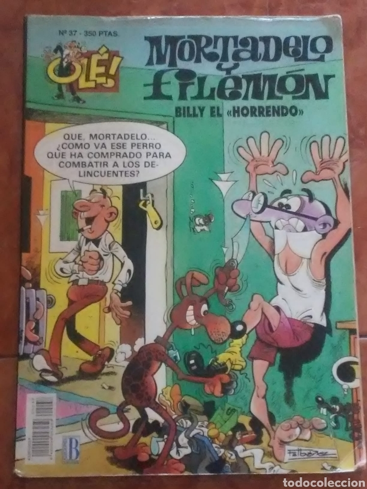 MORTADELO. BILLY EL HORRENDO. NUMERO 37 .350 PTAS (Tebeos y Comics - Bruguera - Ole)