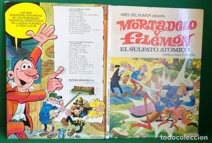 ASES DEL HUMOR Nº 1 - BRUGUERA 1ª EDICIÓN - EL SULFATO ATÓMICO (Tebeos y Comics - Bruguera - Mortadelo)