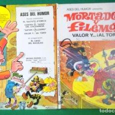 Tebeos: ASES DEL HUMOR Nº 3 - BRUGUERA 1ª EDICIÓN - VALOR Y AL TORO. Lote 216380473