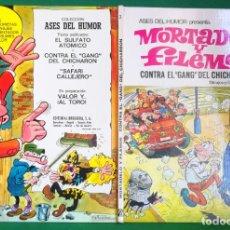 Tebeos: ASES DEL HUMOR Nº 2 - BRUGUERA 1ª EDICIÓN - CONTRA EL GANG DEL CHICHARRÓN 3. Lote 216381031