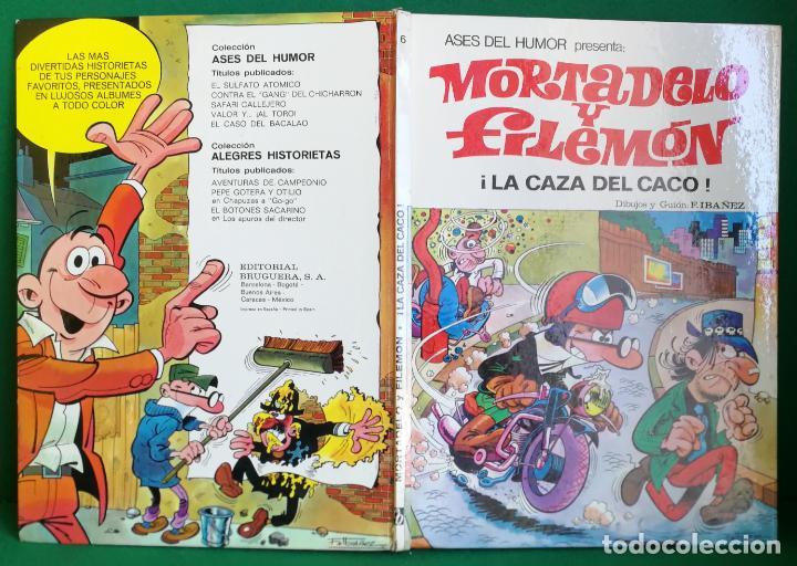 ASES DEL HUMOR BRUGUERA 1ª EDICIÓN - Nº 6 - A LA CAZA DEL CACO - BUENO (Tebeos y Comics - Bruguera - Mortadelo)
