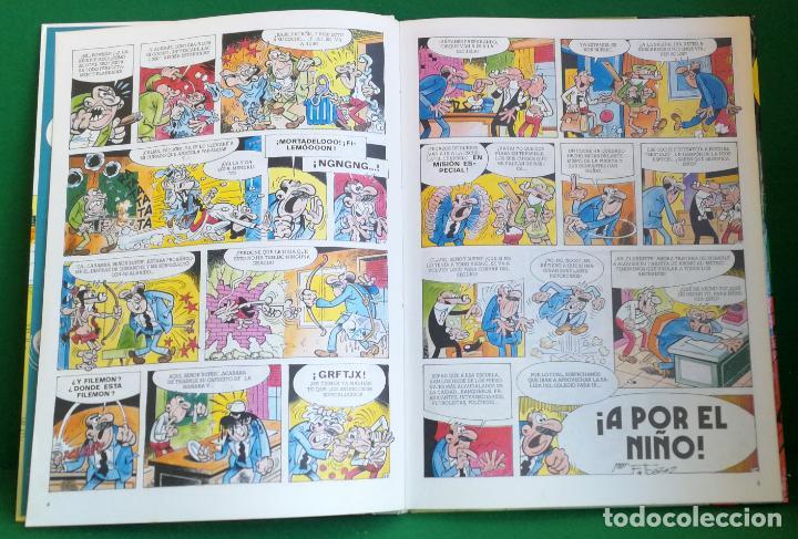 Tebeos: ASES DEL HUMOR Nº 39 - BRUGUERA 1ª EDICIÓN - A POR EL NIÑO - Foto 2 - 216383171