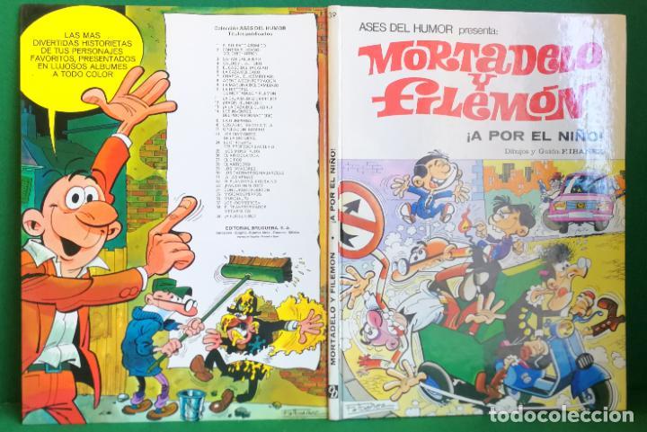 ASES DEL HUMOR Nº 39 - BRUGUERA 1ª EDICIÓN - A POR EL NIÑO (Tebeos y Comics - Bruguera - Mortadelo)