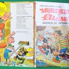 Tebeos: ASES DEL HUMOR Nº 8 - BRUGUERA 1ª EDICIÓN - AGENCIA DE INFORMACIÓN. Lote 216383341