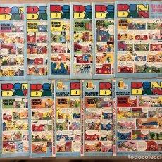 Tebeos: DIN DAN REVISTA JUVENIL (BRUGUERA). LOTE DE 11 NÚMEROS (103, 112, 114, 115, 116, 117, 118, 120,..... Lote 216451696