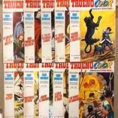 Tebeos: TRUENO COLOR (BRUGUERA 1970/71). LOTE DE 10 NÚMEROS PRIMERA ÉPOCA. VER N° EN DESCRIPCIÓN.. Lote 216456001