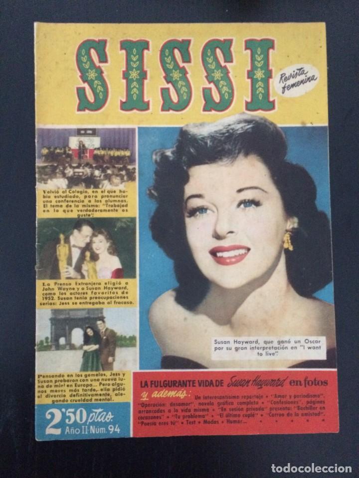 SISSI, REVISTA JUVENIL FEMENINA - AÑO II, Nº 94 - ED. BRUGUERA. SUSAN HAYWARD (Tebeos y Comics - Bruguera - Sissi)