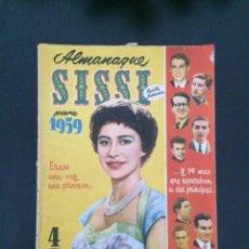 Tebeos: SISSI, REVISTA JUVENIL FEMENINA - ALMANAQUE 1959 - ED. BRUGUERA. Lote 216471130