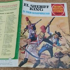 Tebeos: LOTE 9 NÚMEROS SHERIFF KING. Lote 216494540