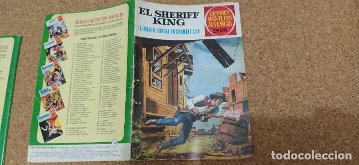 Tebeos: lote 9 números SHERIFF KING - Foto 2 - 216494540