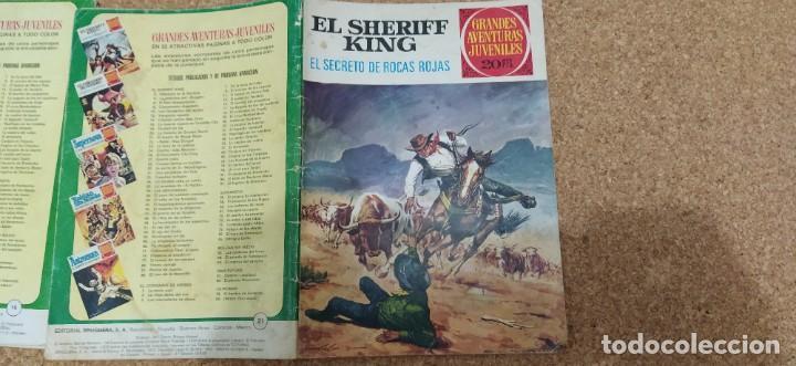 Tebeos: lote 9 números SHERIFF KING - Foto 3 - 216494540