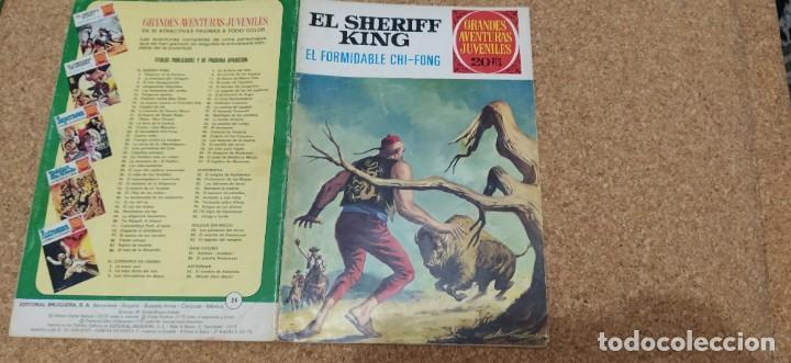 Tebeos: lote 9 números SHERIFF KING - Foto 4 - 216494540