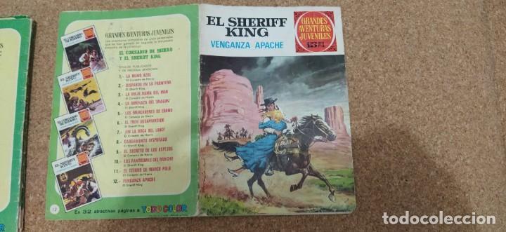 Tebeos: lote 9 números SHERIFF KING - Foto 6 - 216494540