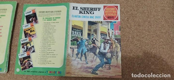 Tebeos: lote 9 números SHERIFF KING - Foto 7 - 216494540