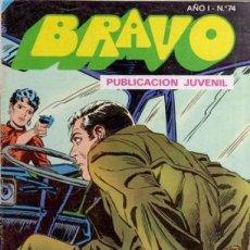 Tebeos: BRAVO- Nº 50 -INSPECTOR DAN- Nº 37 -EL RAPTO DE STELLA-GRAN JULIO VIVAS-1976-BUENO-DIFÍCIL-LEA-3542. Lote 216617005