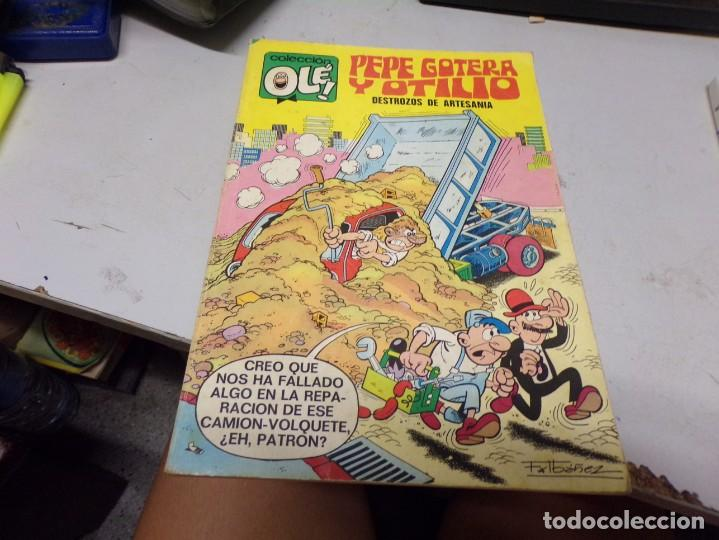 PEPE GOTERA Y OTILIO COLECCION OLE DESTROZOS DE ARTESANIA (Tebeos y Comics - Bruguera - Ole)