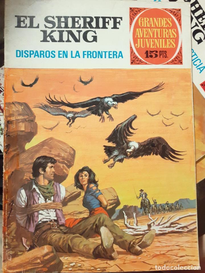 Tebeos: GRANDES AVENTURAS JUVENILES- Nº 2 -SHERIFF KING-DISPAROS EN LA FRONTERA-1971-BUENO-DIFÍCIL-LEA-3544 - Foto 2 - 216721602