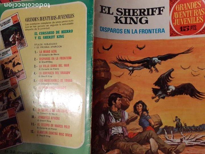 Tebeos: GRANDES AVENTURAS JUVENILES- Nº 2 -SHERIFF KING-DISPAROS EN LA FRONTERA-1971-BUENO-DIFÍCIL-LEA-3544 - Foto 3 - 216721602