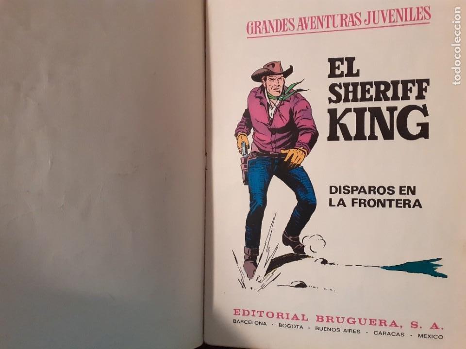 Tebeos: GRANDES AVENTURAS JUVENILES- Nº 2 -SHERIFF KING-DISPAROS EN LA FRONTERA-1971-BUENO-DIFÍCIL-LEA-3544 - Foto 4 - 216721602